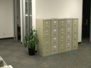 File Cabinets - Before