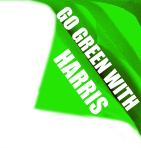 Go green with Harris